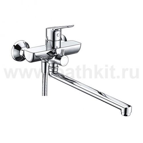 Смеситель для ванны с длинным поворотным изливом 4502L