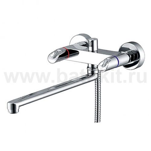 Смеситель для ванны с длинным изливом 1202L