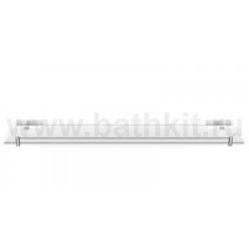 Полка стеклянная прямая 60 см