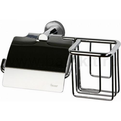 Держатель туалетной бумаги с крышкой и освежителя