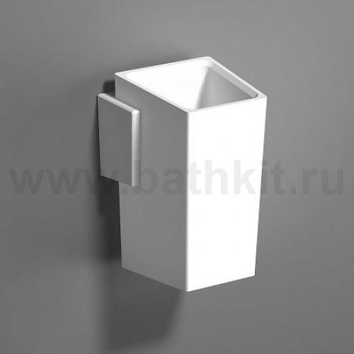 Стакан к стене Solid Surface