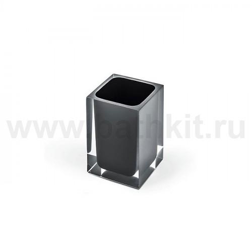 Стакан настольный (Серебро/Черный)