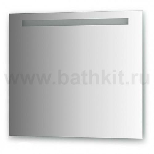 Зеркало со встроенным светильником (80х70 см)