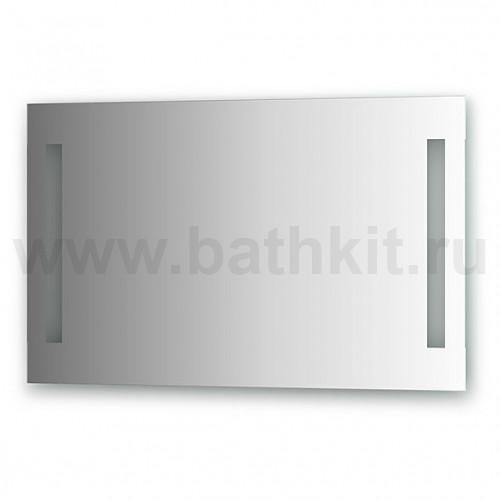Зеркало со встроенными светильниками (90х55 см)