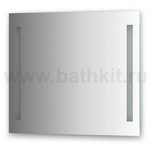 Зеркало со встроенными светильниками (80х70 см)