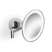 Зеркало поворотное косметическое с подсветкой