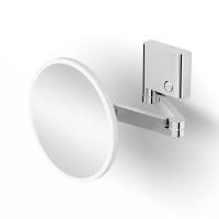 Зеркало косметическое к стене с настраиваемой подсветкой (3х)