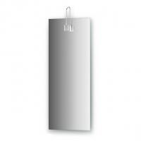 Зеркало со светильником, хром (30х75 см)
