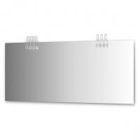 Зеркало со светильниками, хром (170х75 см)