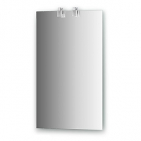 Зеркало со светильниками (45х75 см)