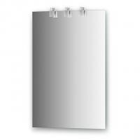 Зеркало со светильниками (50х75 см)
