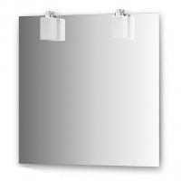 Зеркало со светильниками (75х75 см)