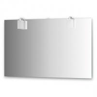 Зеркало со светильниками (хром 120х75 см)