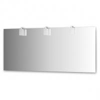 Зеркало со светильниками (170х75 см, хром)