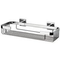 Полочка - решетка металлическая, хром