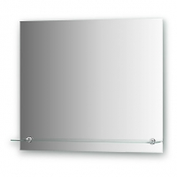 Зеркало с полочкой (70х60 см)
