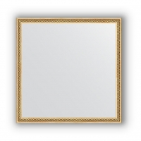 Зеркало в багетной раме  (58х58 см)