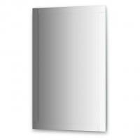 Зеркало с зеркальным обрамлением, цвет хром (70х110 см)