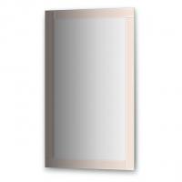 Зеркало с зеркальным обрамлением (60х100 см, бронза)