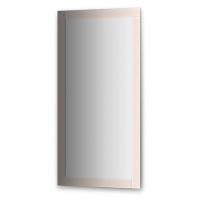 Зеркало с зеркальным обрамлением (60х120 см, цвет хром)