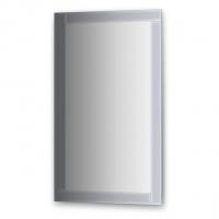 Зеркало с зеркальным обрамлением (60х100 см, графит)