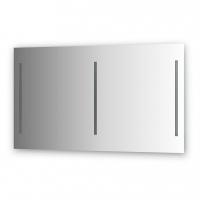 Зеркало с 3-мя встроенными LUM-светильниками 60 W (130х75х3 см)