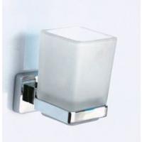 Держатель одинарный + стакан квадратный