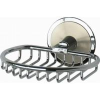 Мыльница-решетка металлическая хром