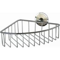 Полочка-решетка металлическая угловая