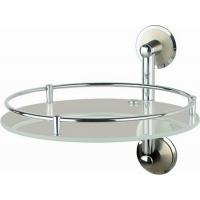 Полка стеклянная диаметр 28 см