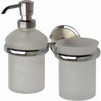 Дозатор для жидкого мыла со стаканом стеклянные