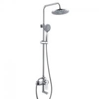 Душевой комплект со смесителем для ванны, 85/120*53,5 см