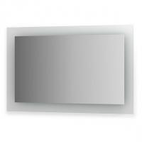 Зеркало со встроенными светильниками (110х70 см, хром)