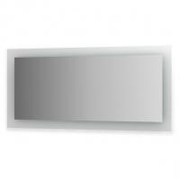 Зеркало со встроенными светильниками (150х70 см, хром)