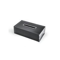 Контейнер для салфеток (Серебро/Черный)