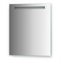 Зеркало со встроенным светильником (60х70 см, хром)