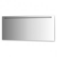 Зеркало со встроенным светильником (160х70 см, хром)