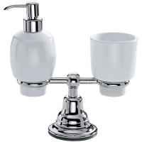 Настольный стакан и дозатор для жидкого мыла
