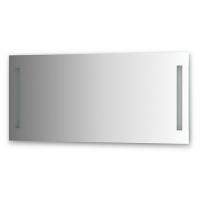 Зеркало со встроенными светильниками (120х55 см)