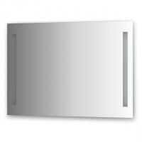 Зеркало со встроенными светильниками (100х70 см)
