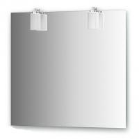 Зеркало со светильниками (80х75 см)