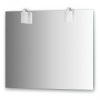 Зеркало со светильниками (90х75 см)