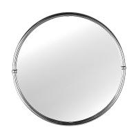 Зеркало в металлической раме d 50 см