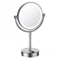 Зеркало с LED-подсветкой двухстороннее, стандартное и с 3-х кратным увеличением