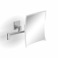 Зеркало квадратное поворотное косметическое 5-кратное увеличение