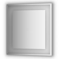Зеркало в багетной раме со встроенным LED-светильником 20 W (70x75 см)