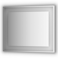 Зеркало в багетной раме со встроенным LED-светильником 24 W (90x75 см)