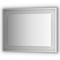 Зеркало в багетной раме со встроенным LED-светильником 25,5 W (100x75 см)