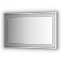 Зеркало в багетной раме со встроенным LED-светильником 29,5 W (120x75 см)
