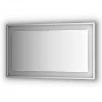 Зеркало в багетной раме со встроенным LED-светильником 31,5 W (130x75 см)